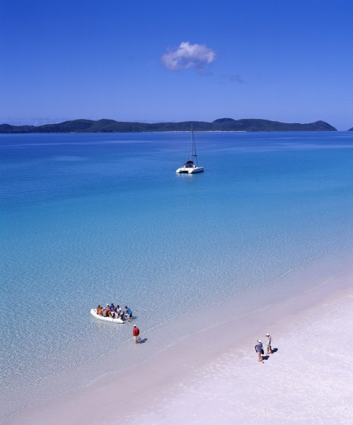 Australia - Whitsunday Island Whitehaven Beach