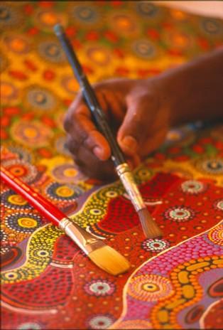 australia - arte aborigena