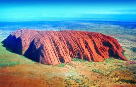 Australia - australia uluru monolito aerea