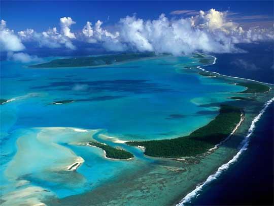 Isole Cook - Laguna di Aitutaki