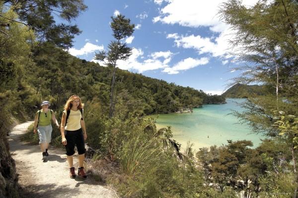 Abel Tasman NP Track. IAN TRAFFORD