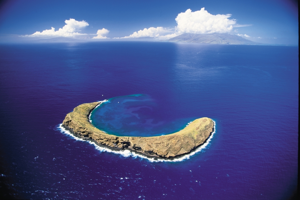 Molokini copyright Hawaii Tourism Authority