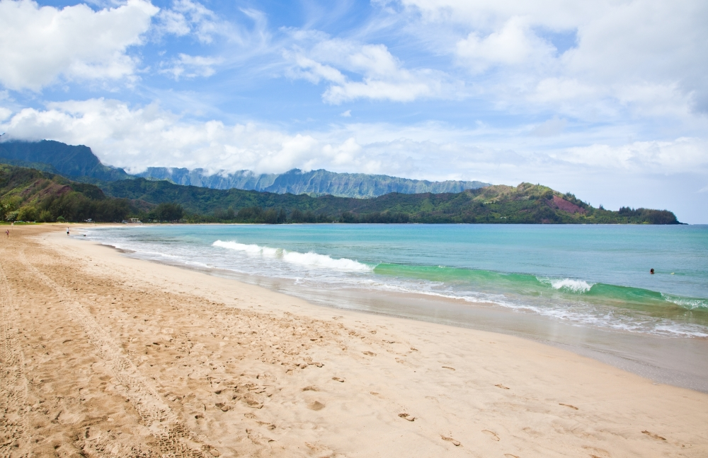 Kauai Hanalei Bay  copyright Hawaii Tourism Authority