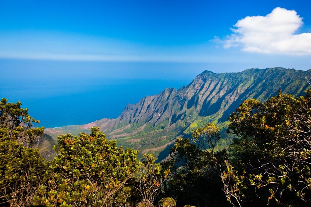 Kauai, Na Pali Coast dall