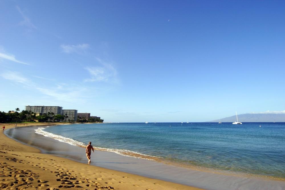 Maui spiaggia di Kaanapali  copyright Hawaii Tourism Authority