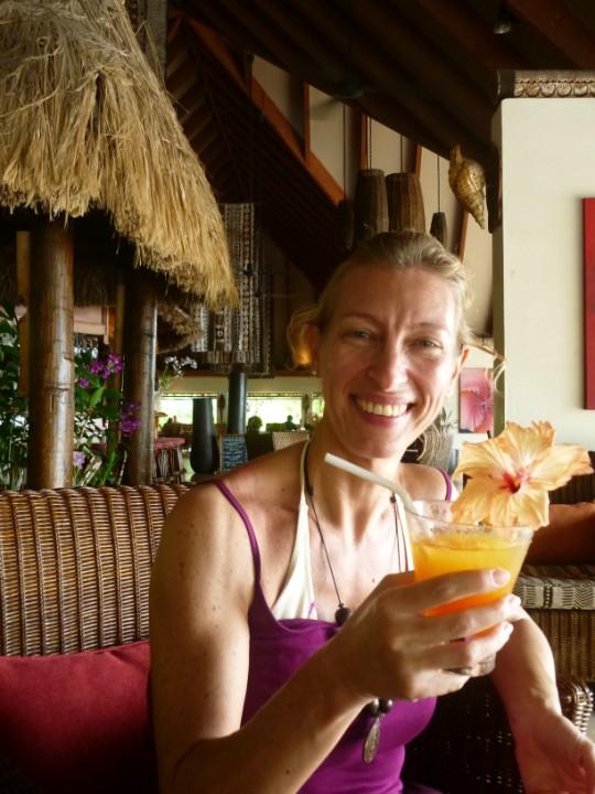 Cristina alle Fiji