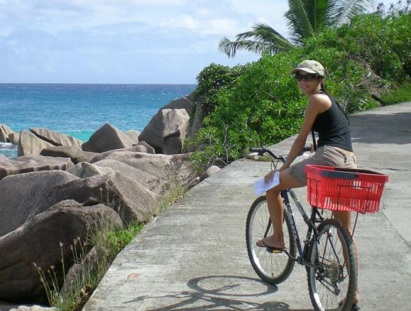 Erica a La Digue, Seychelles