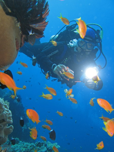 Giulio - immersione a Fakarava, Polinesia Francese